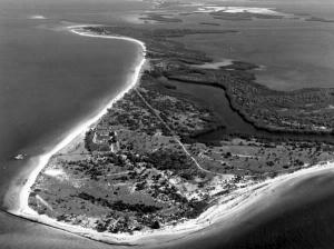 Aerial View of Mullet Key