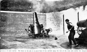 Mortar-Firing