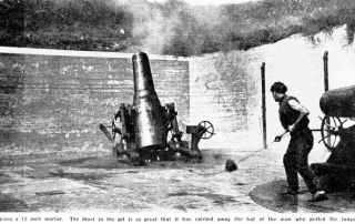 Mortar-Firing