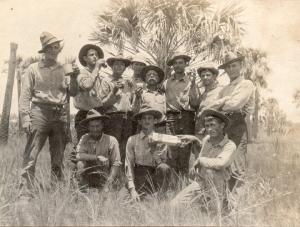 Troops at Fort De Soto