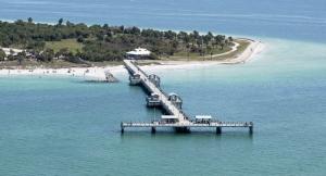 Gulf Pier Aerial View