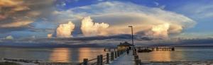 ©Kathleen Finnerty Gulf Pier at Days End