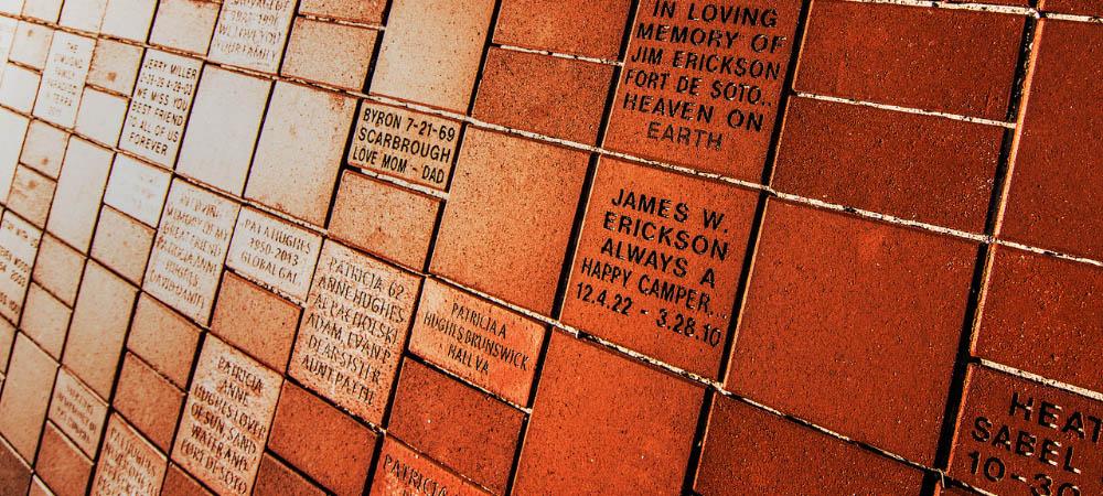 Memorial Bricks Fort De Soto